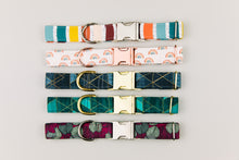 Load image into Gallery viewer, Magnolia and Eucalyptus Dog Collar
