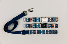 Load image into Gallery viewer, Navy Blue Aztec Matching Dog Leash