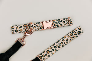 Leopard Print Matching Dog Leash