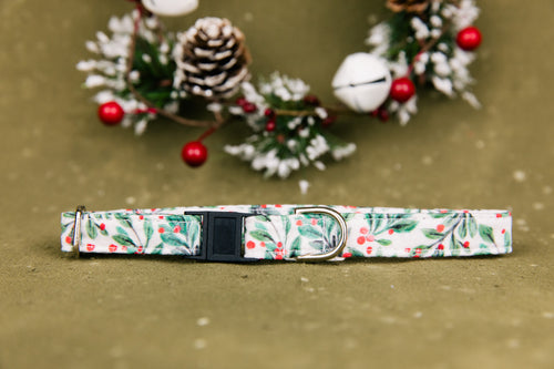 Mistletoe Breakaway Cat Collar