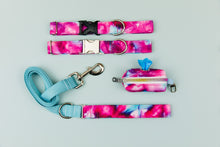 Load image into Gallery viewer, Fuchsia Tie Dye Matching Dog Leash