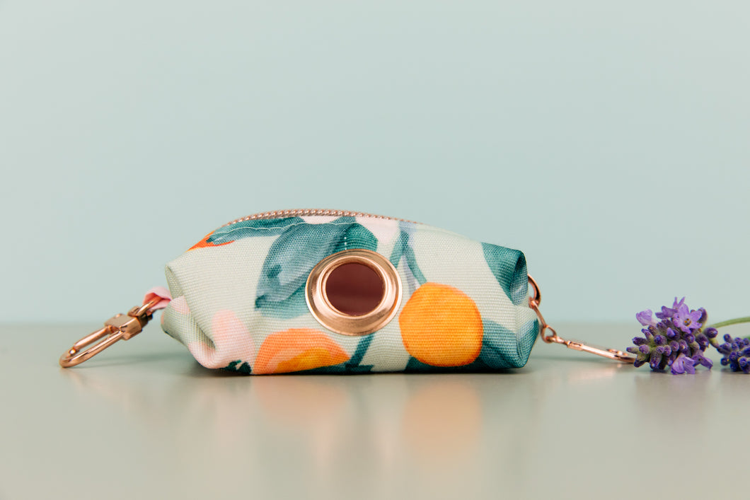 Minty Clementine Waste Bag Holder