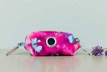 Load image into Gallery viewer, Fuchsia Tie Dye Waste Bag Holder