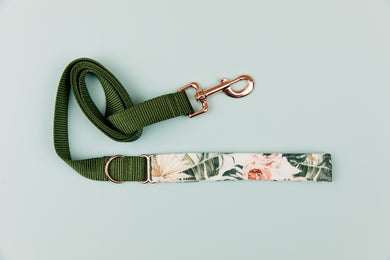 Tropical Paradise Matching Dog Leash