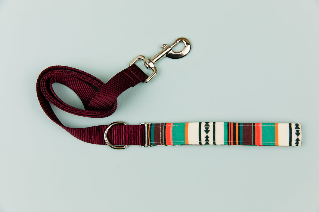Desert Stripes Matching Dog Leash