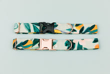 Load image into Gallery viewer, Minty Clementine Water Resistant Dog Collar