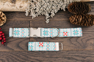Ugly Christmas Sweater Dog Collar
