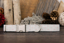 Load image into Gallery viewer, White Snowflake Dog Collar