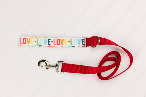 LOVE Customizable Matching Dog Leash