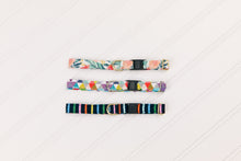 Load image into Gallery viewer, Navy Stripes Breakaway Cat Collar