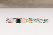 Load image into Gallery viewer, Rose Gold Tropical Breakaway Cat Collar