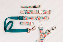 Load image into Gallery viewer, Rose Gold Tropics Customizable Matching Dog Leash