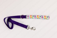 Load image into Gallery viewer, Colourful Triangles Customizable Matching Dog Leash