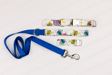 Load image into Gallery viewer, Colourful Bees Dog Collar