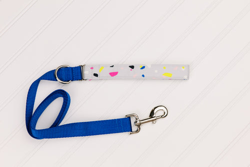 Neon Spots Customizable Matching Dog Leash