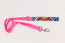 Load image into Gallery viewer, Water Resistant Graffiti Neon Geometric Dog Collar