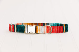 Southwest Stripes Water Resistant Dog Collar