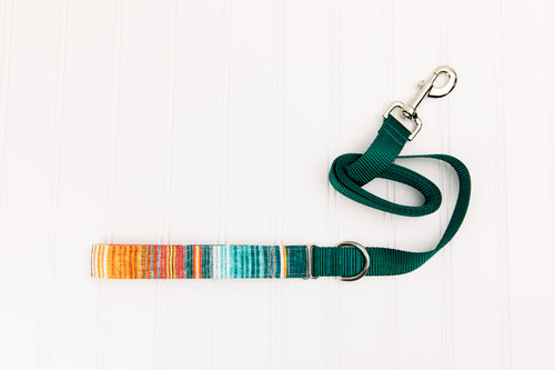 Southwest Stripes Matching Dog Leash
