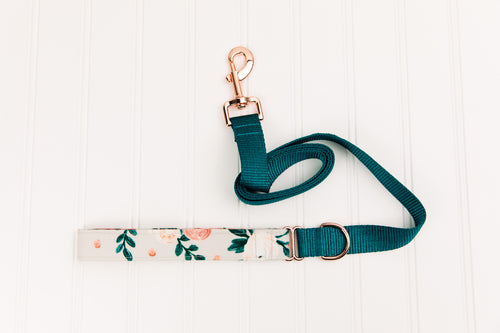 Honey Bloom Floral Matching Dog Leash