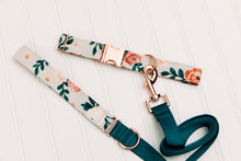 Load image into Gallery viewer, Honey Bloom Floral Matching Dog Leash