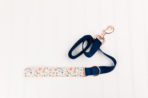 Ditsy Watercolour Floral Matching Dog Leash