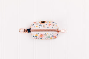 Ditsy Watercolour Floral Waste Bag Holder