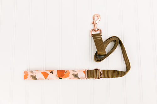 Clay Magnolia Matching Dog Leash