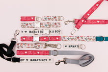 Load image into Gallery viewer, Mama's Boy Valentine's Dog Collar