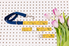 Load image into Gallery viewer, Mustard Yellow Floral Bundles Matching Dog Leash