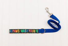 Load image into Gallery viewer, Wash Your Paws Rainbow Matching Dog Leash