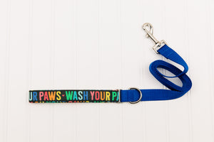 Wash Your Paws Rainbow Matching Dog Leash