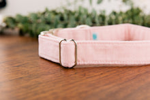Load image into Gallery viewer, Pastel Pink Special Occasion Linen & Cotton Blend Collar