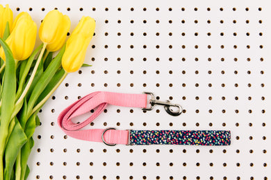 Baby Bloom Polka Dot Matching Dog Leash