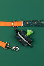 Load image into Gallery viewer, Orange Diamond Water Resistant Dog Collar