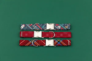 Nordic Christmas Sweater Dog Collar