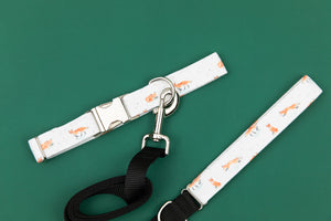 Winter Fox Matching Dog Leash