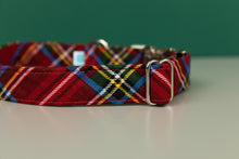 Load image into Gallery viewer, Cozy Winter Plaid Dog Collar