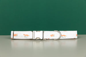 Winter Fox Dog Collar