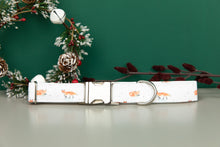 Load image into Gallery viewer, Winter Fox Dog Collar