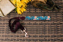 Load image into Gallery viewer, Water Resistant Autumn Blooms Dog Collar