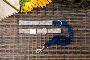 Grey Feather Spirit Customizable Matching Dog Leash
