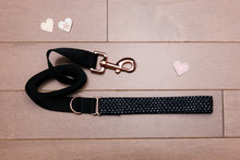 Load image into Gallery viewer, Valentine's Tiny Hearts Rose Gold Leash