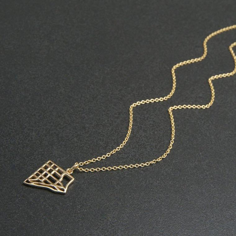 gold map jewellery handmade scarborough