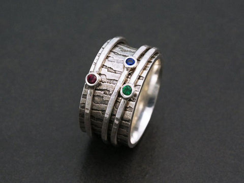 Gemstone Spinny Ring