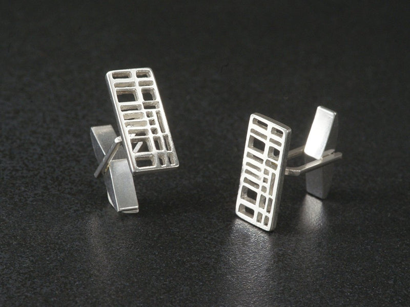 church wellesley village map cufflinks toronto
