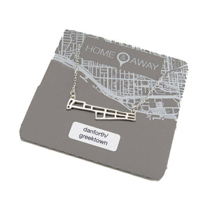 danforth greektown toronto neighborhood pendant