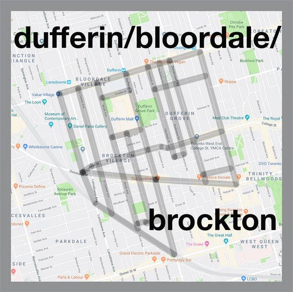 Dufferin/Bloordale/Brockton Pendant