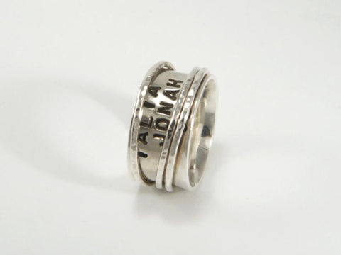 Family Spinner Ring