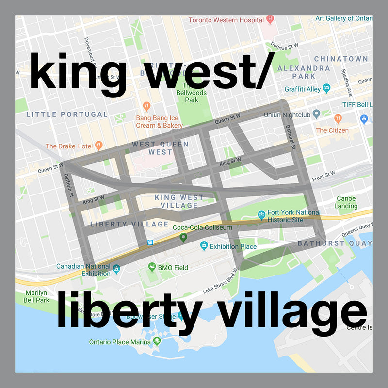 King West/Liberty Village Cufflinks