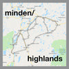 minden highlands ontario pendant map jewelry